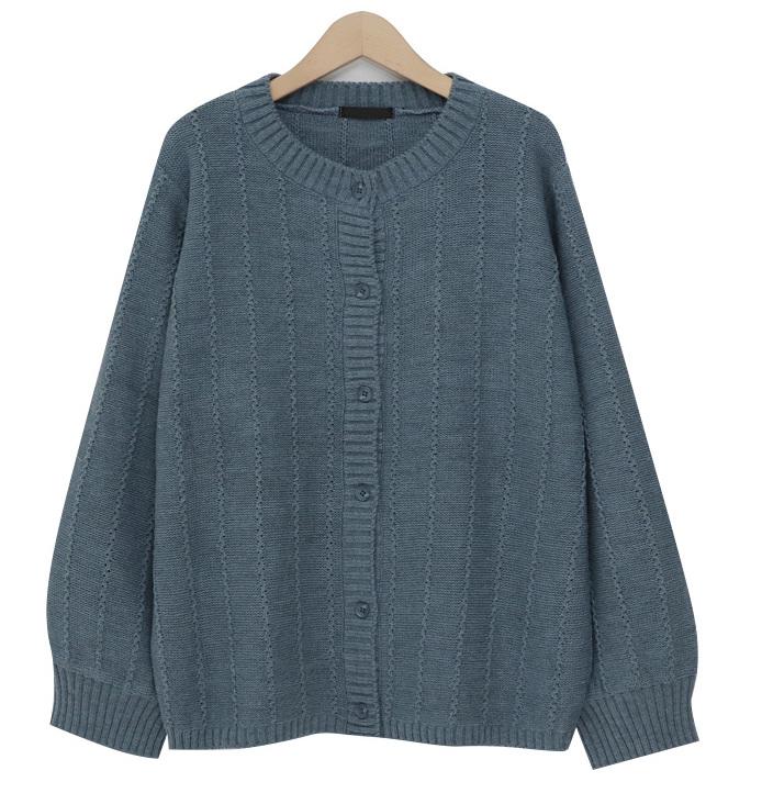 Winkle knit cardigan_M