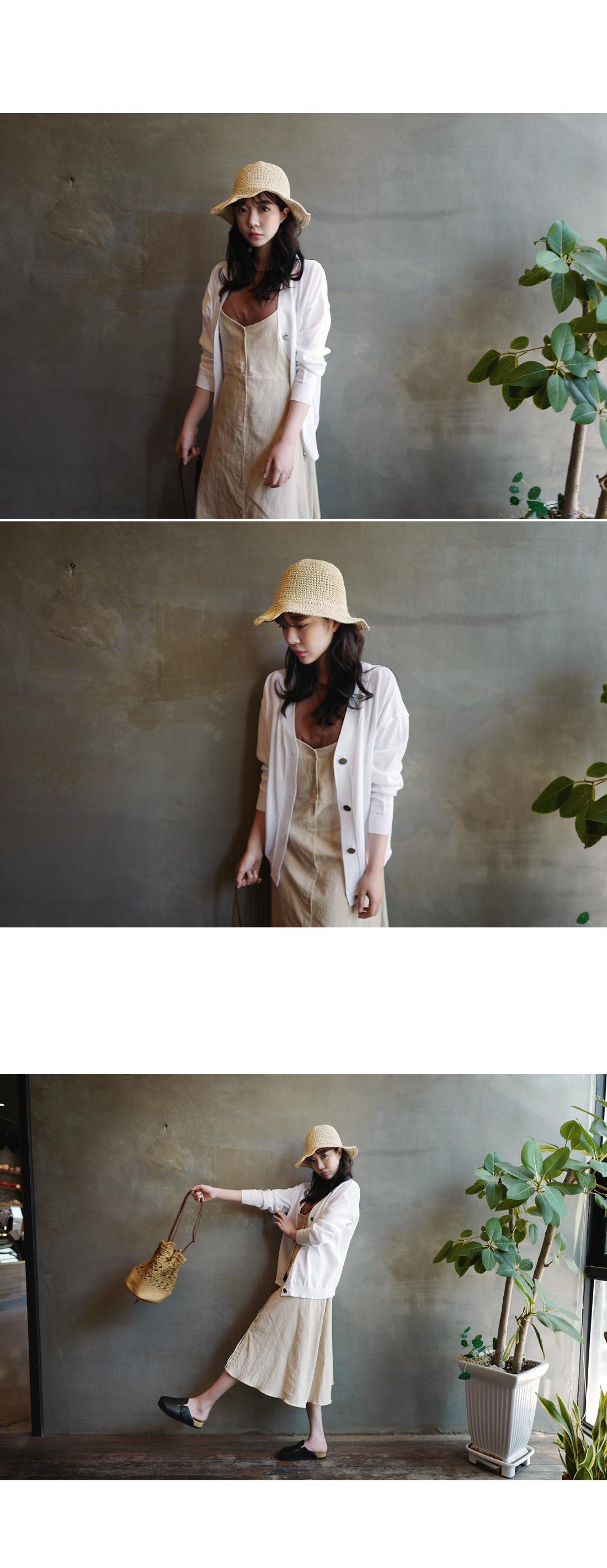 Aqua Knit Cardigan - White