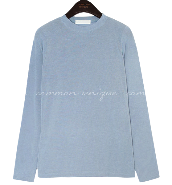 6 COLOR SOFT SPAN ROUND NECK T