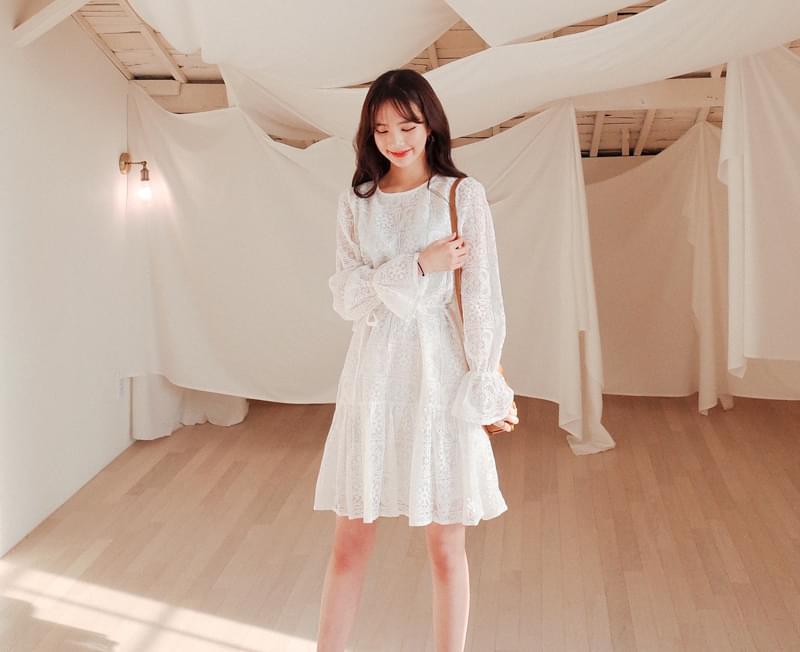 Bright effect dress