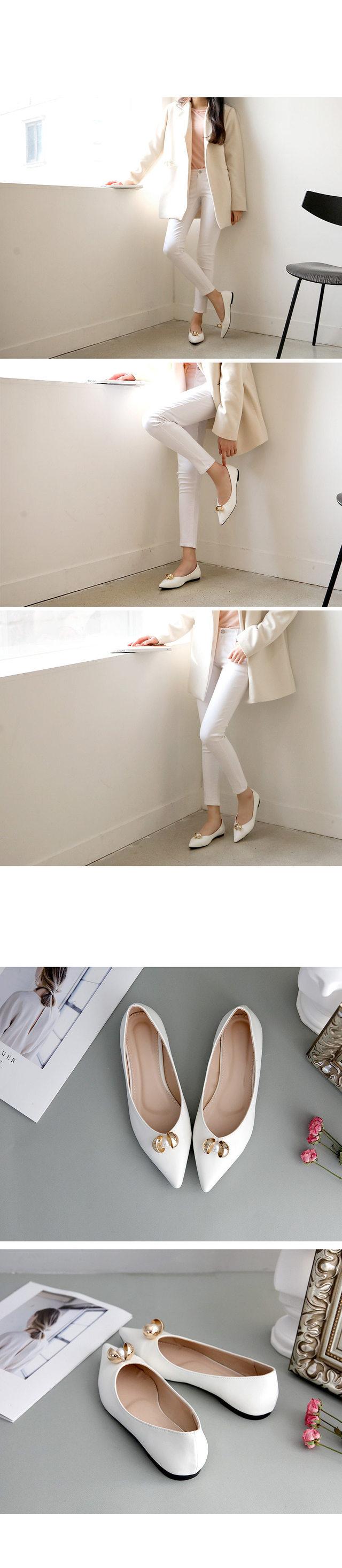 Nikael Flat Shoes 1cm