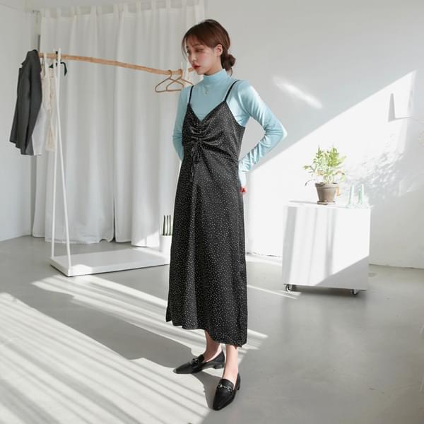 Dot Shearing Dress