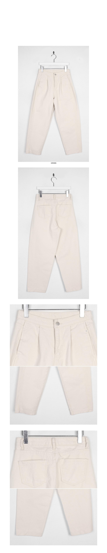 diagonal line cotton pants