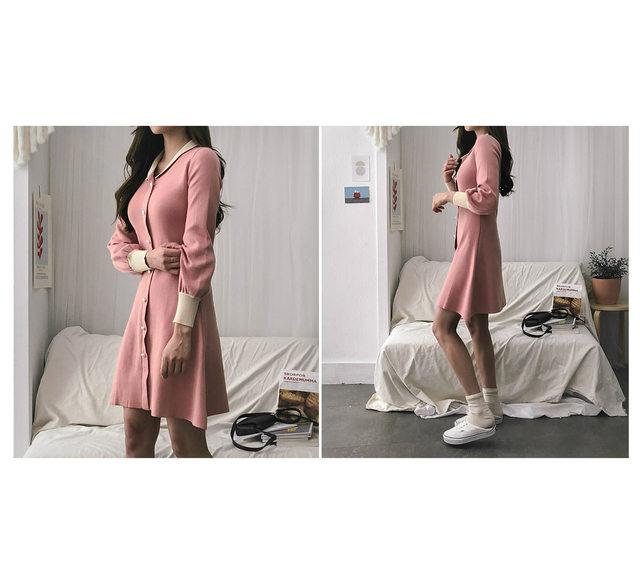 Pearl Bagel Knit Dress