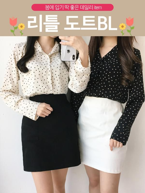 Little dot blouse