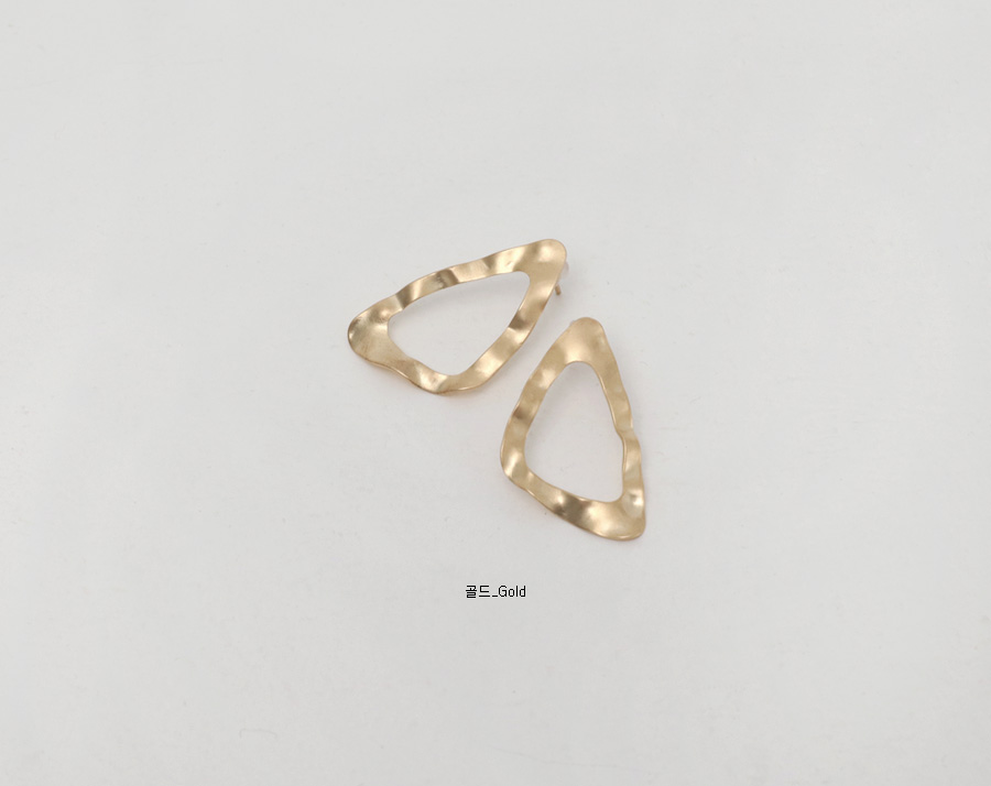 Triangle vintage earring_J