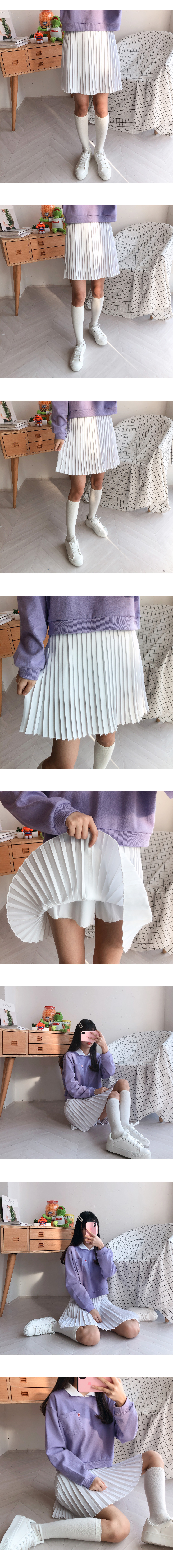 Sun miniplex skirt