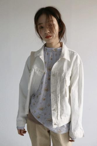 casual steady cotton jacket (2colors)