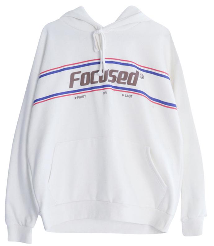 Focus brushed hoody