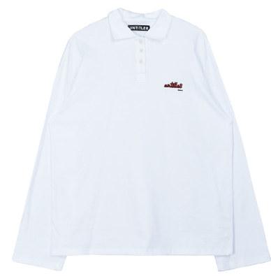 Long Sleeve Simple Collar Top