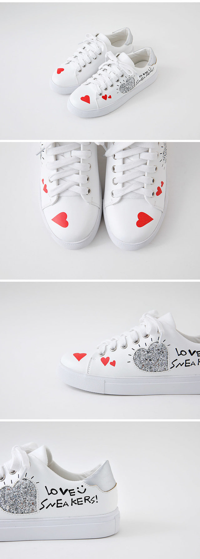 Clean Heart Sneakers 2.5cm