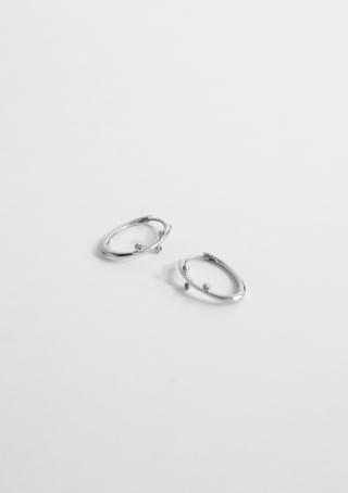 bling tree earrings