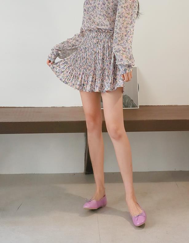 Ruffy Flower Skirt