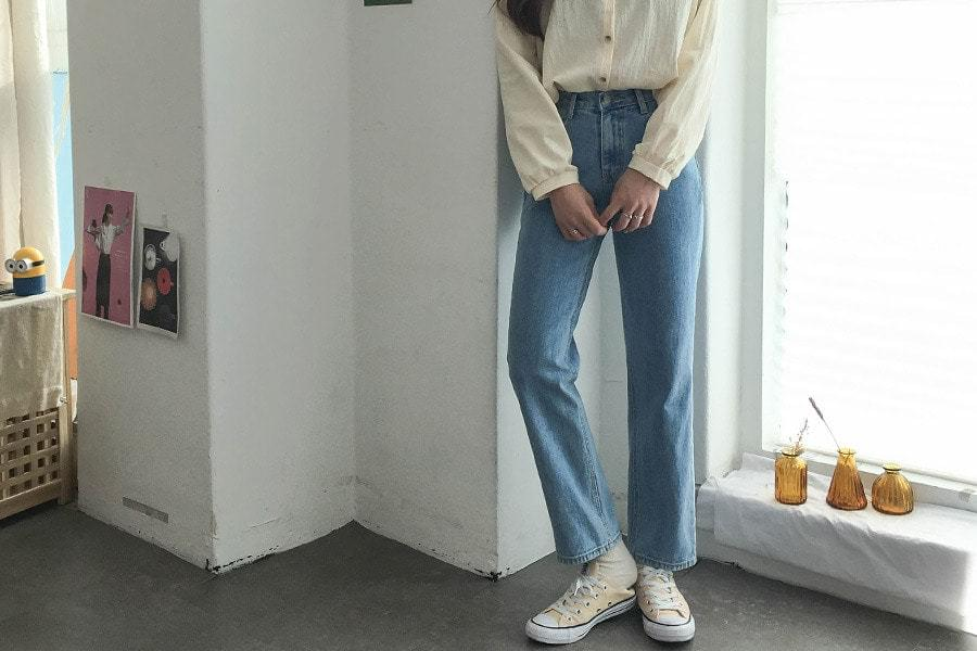 Poppins Date Denim Pants