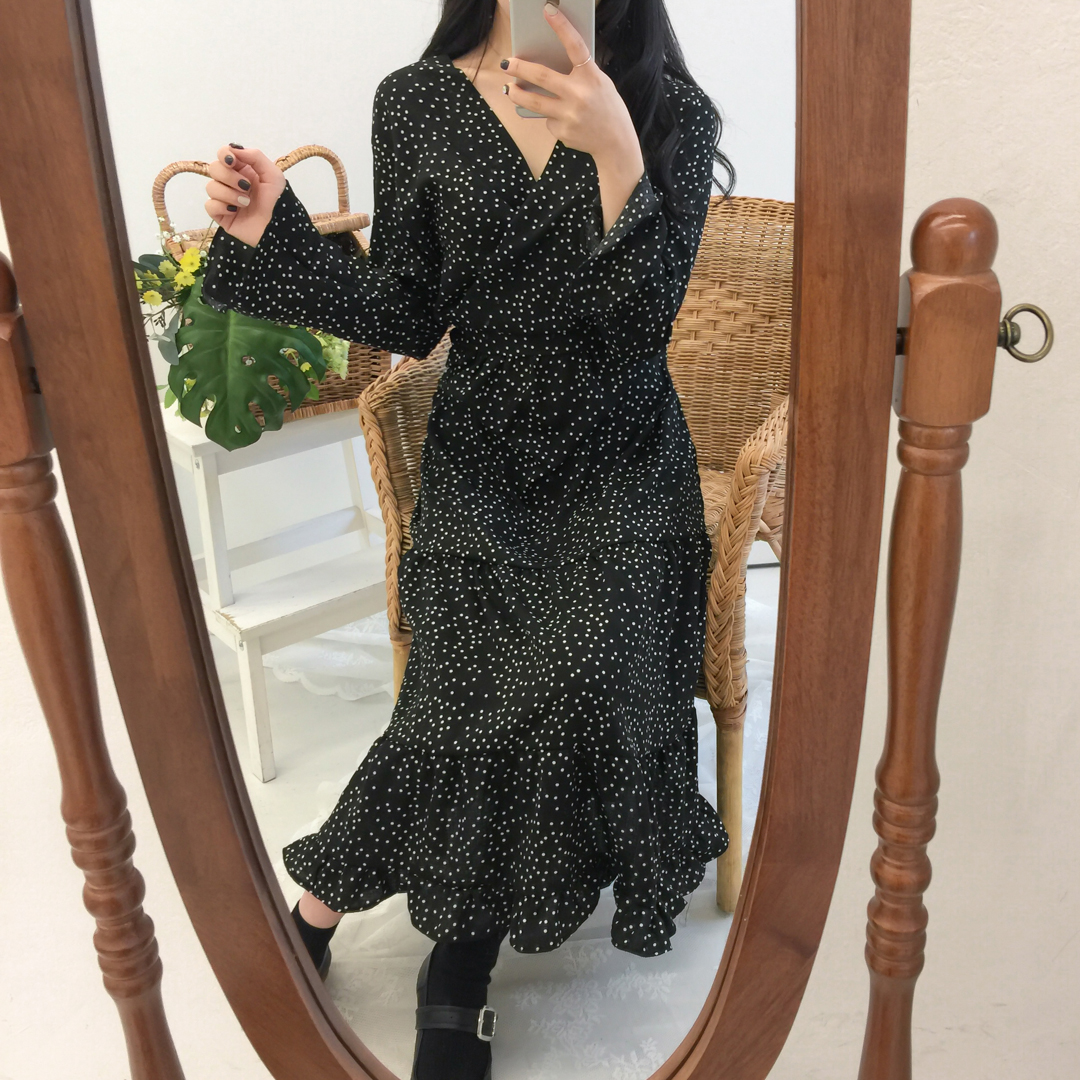 Kankan dot dress