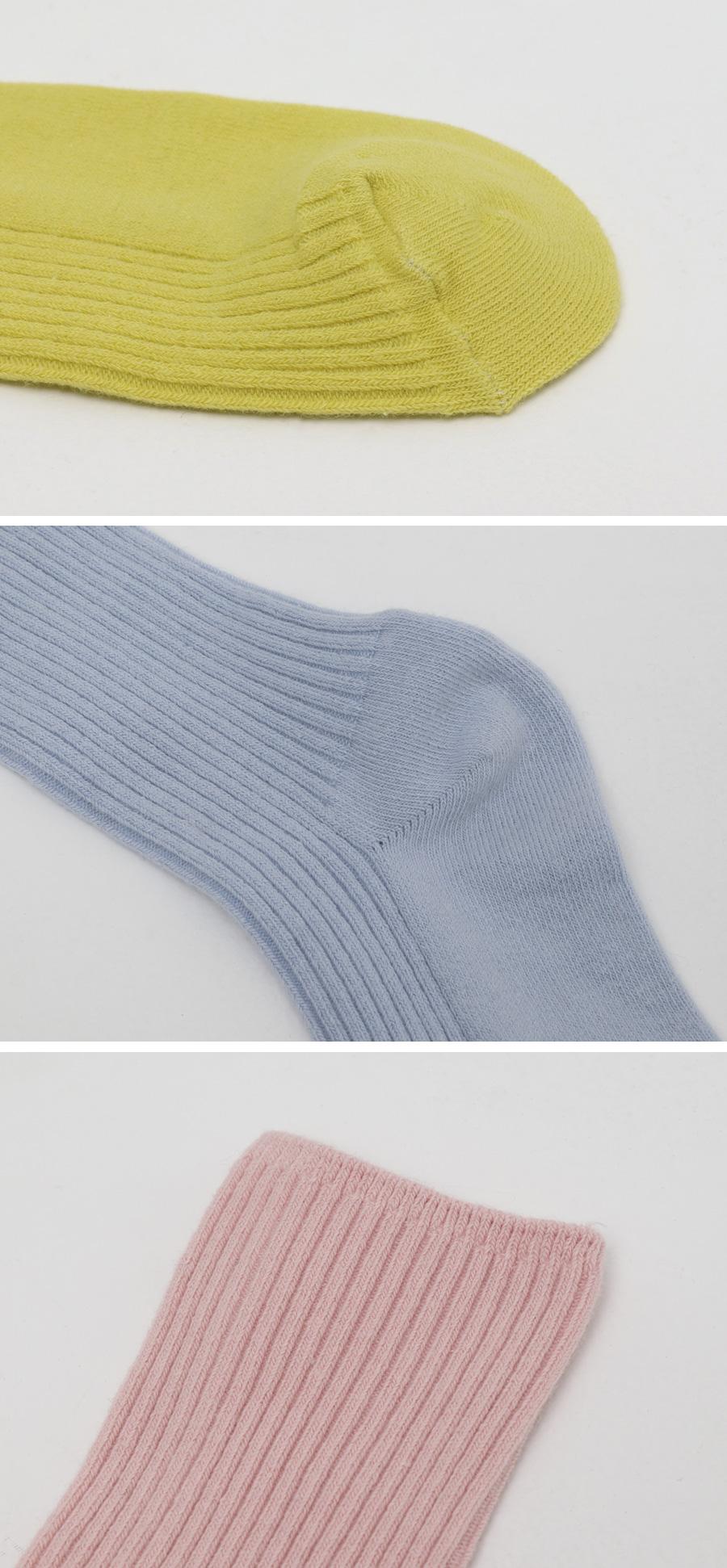 Pure golgi color socks_J