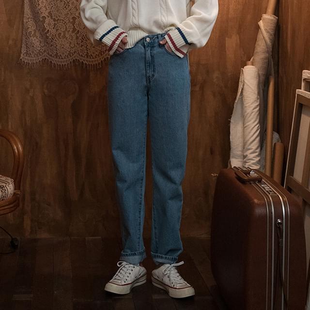 Vintage Washed Jeans