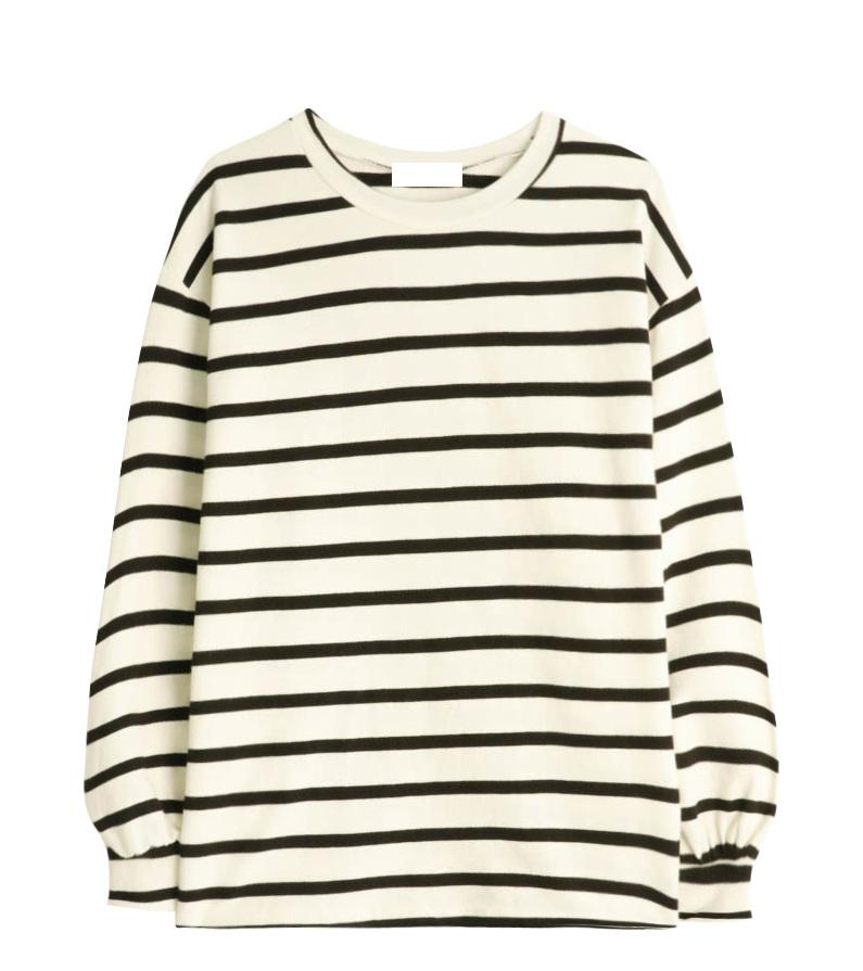 Peiro striped polo shirt