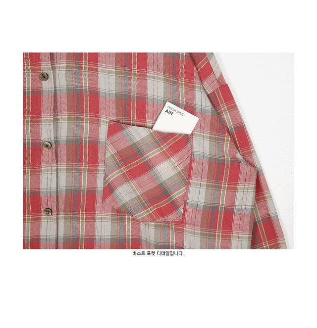 humming check shirts