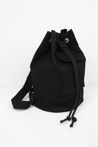 canvas cotton bucket bag (2colors)