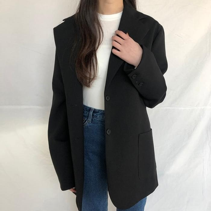 Two Button Basic Jacket