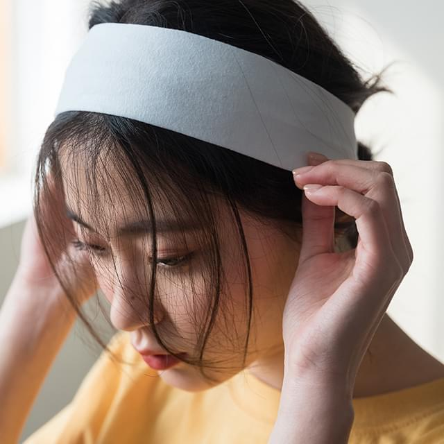 basic cotton hairband