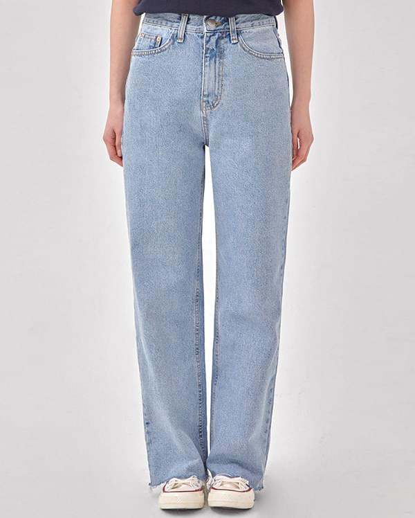 alley lightblue denim pants