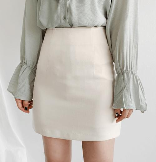 On-off mini skirt