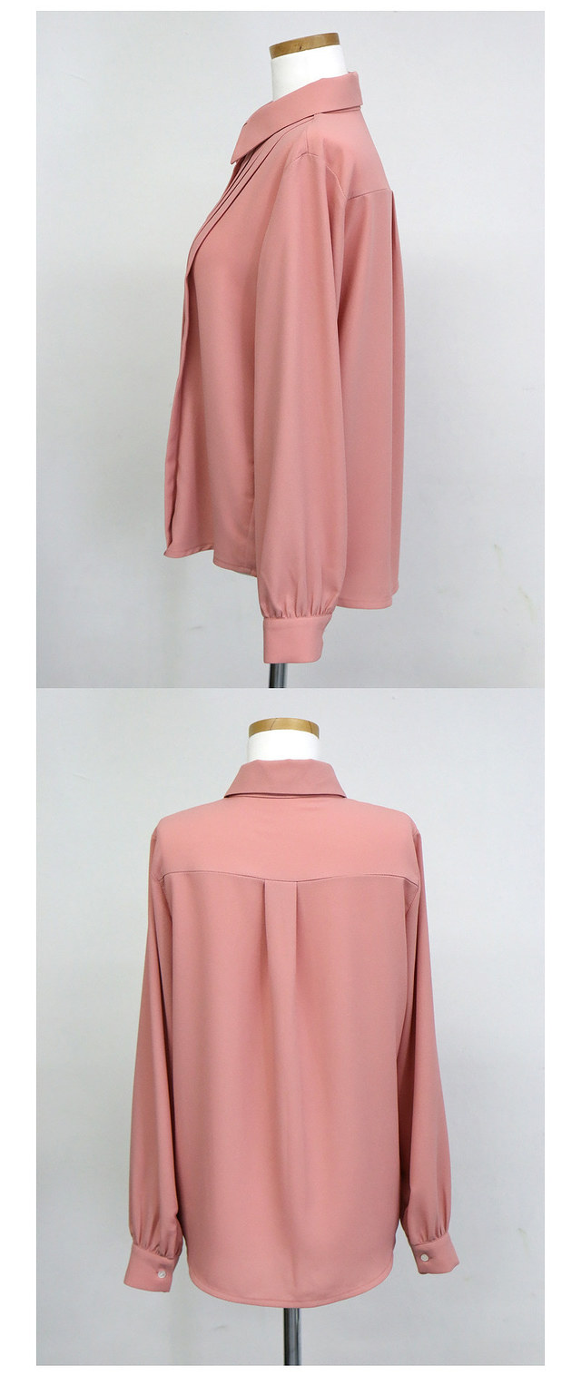 Self Made ♥ Royal Pinch Ribbon blouse