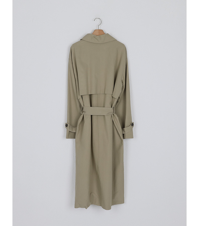 much single trench coat