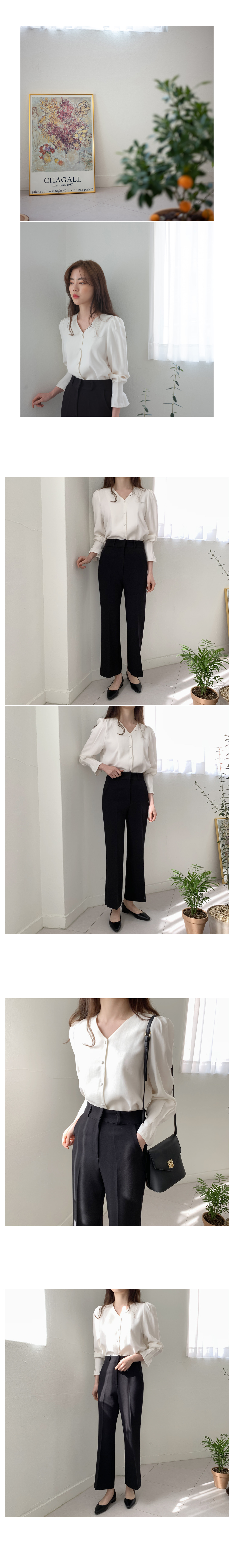Semi boots cut slacks