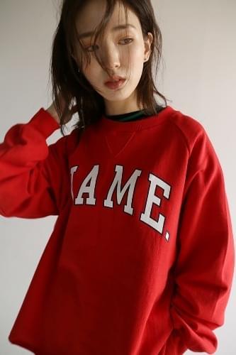name raglan sweatshirt (3colors)