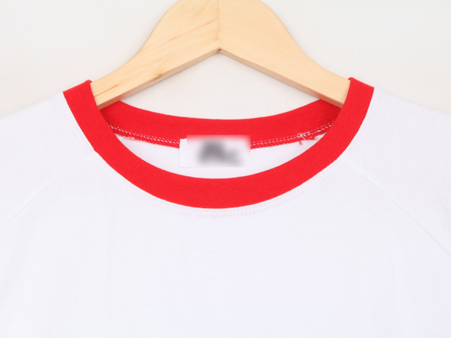 Keeping cherry embroidery T