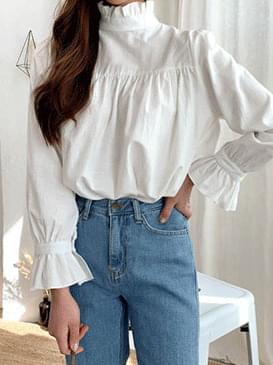 Frill May Ribbon Blouse