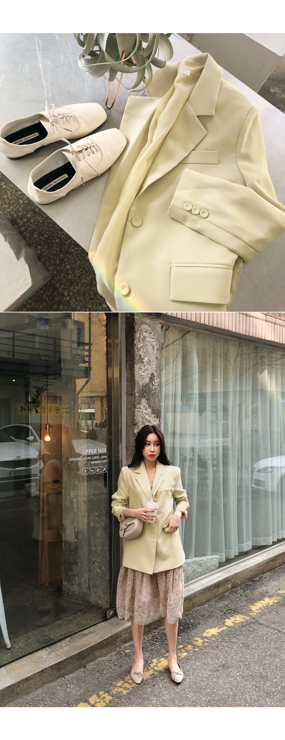 Rubin strap jacket