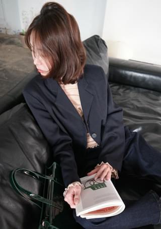 feminine mood short jacket