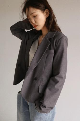 2-button double jacket (2colors)