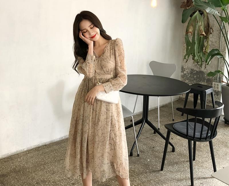 Belia Flower Dress