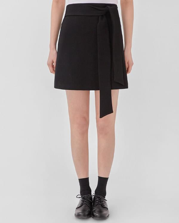 waist strap mini skirt (s, m)
