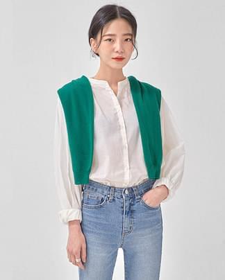 lovely shirring blouse