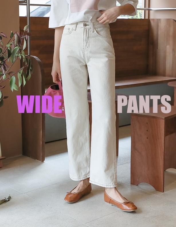 Stitch point pants