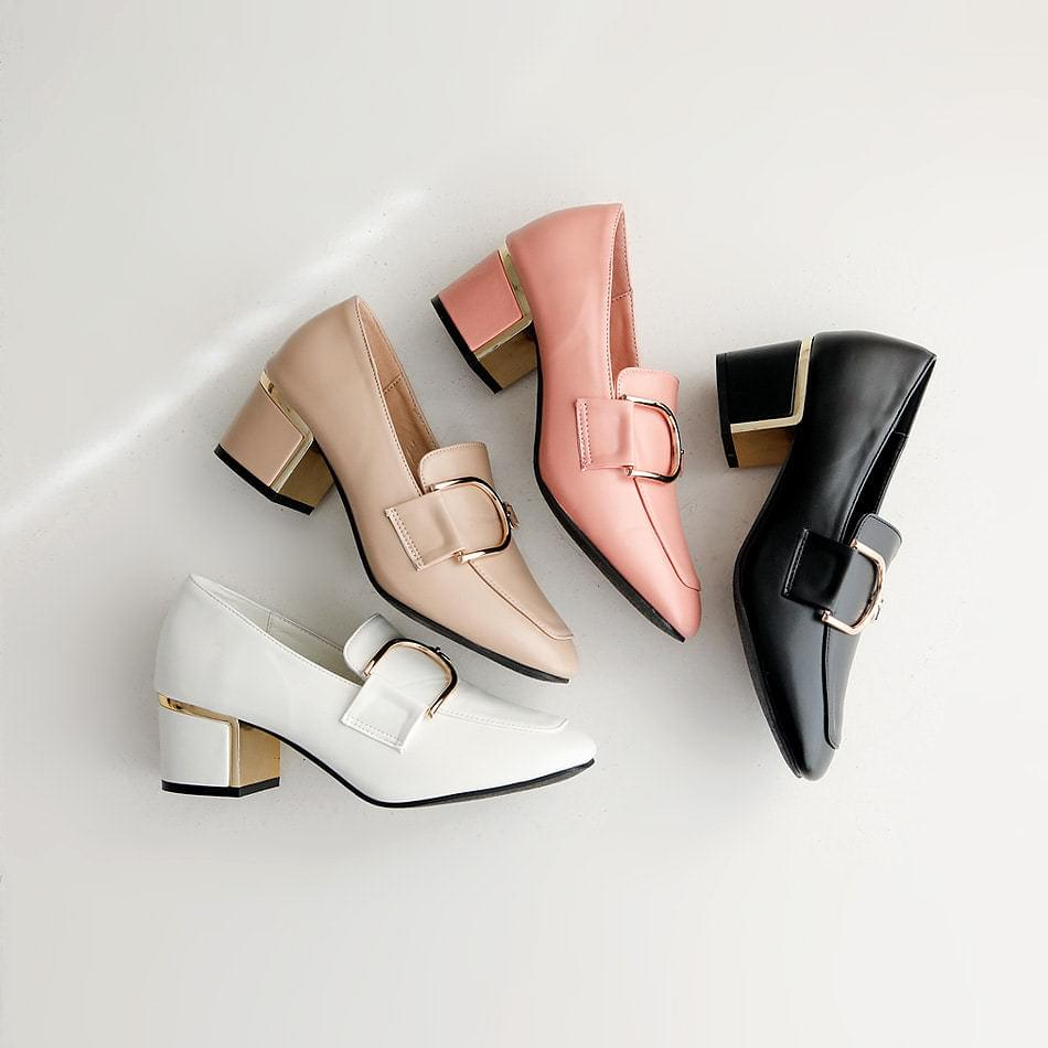 Fourth, Gold Middle Hill Pumps 5cm