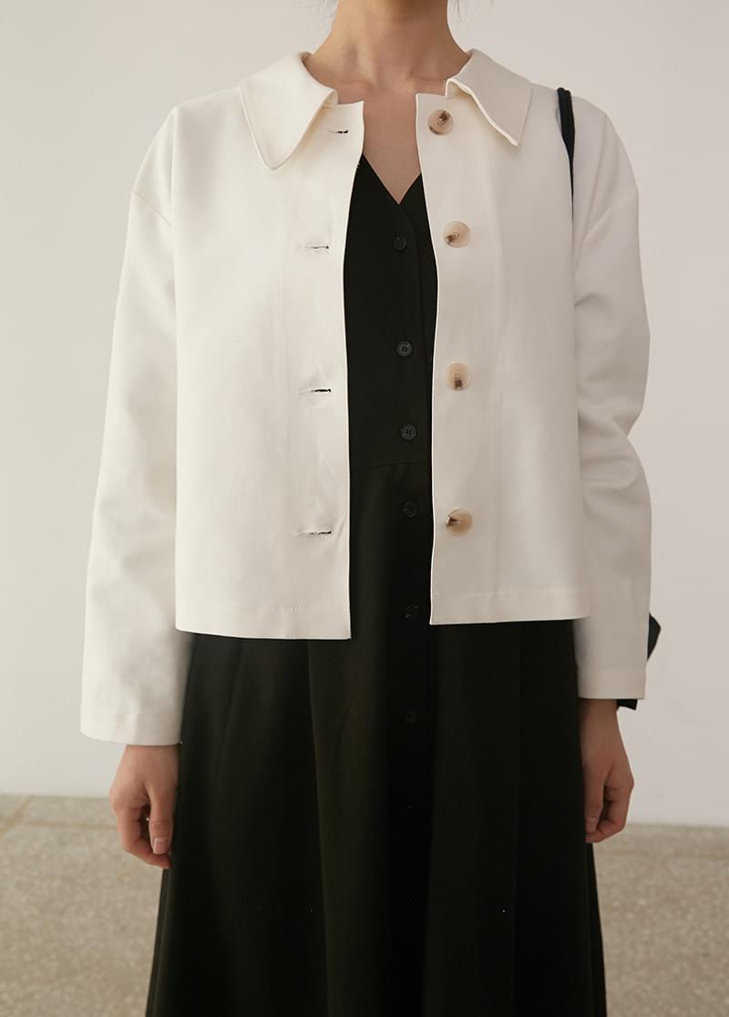 Cotton simple jacket