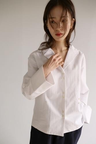 unique button detail shirt