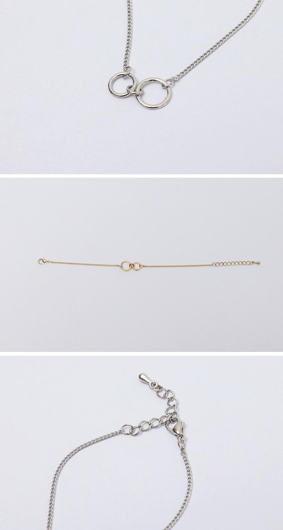 Balm double ring bracelet_K