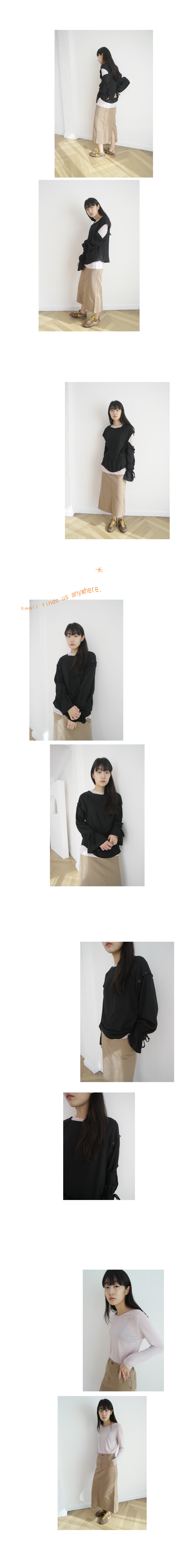 daily middle H-line skirt