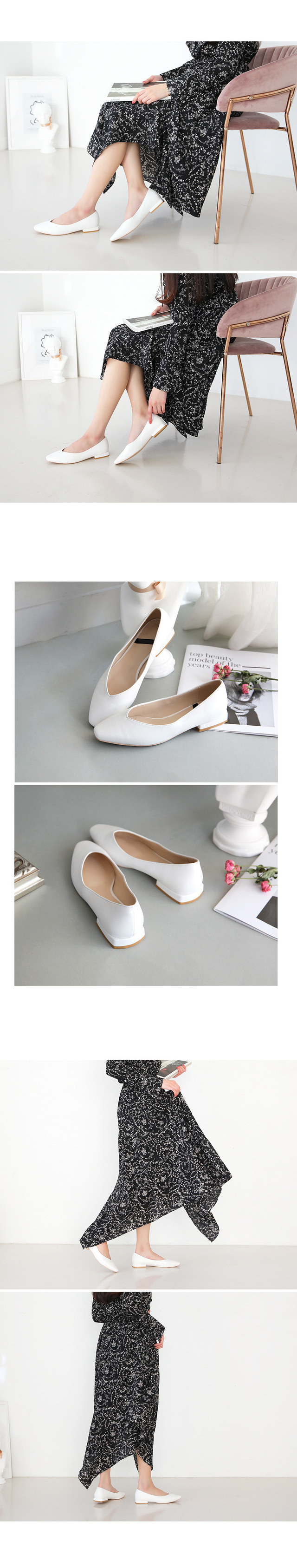 Moffa Flat Shoes 2cm