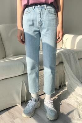 Film denim pants