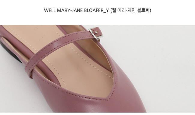 Well mary-jane bloafer_Y