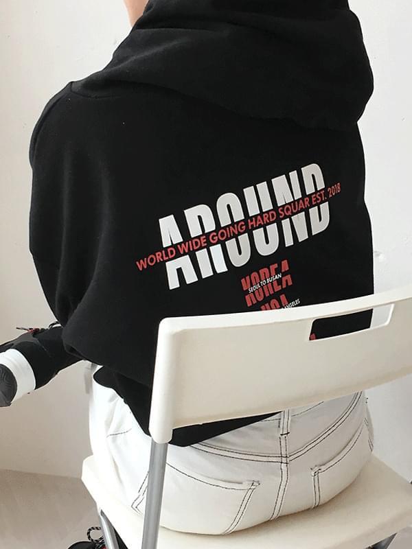 Around Printing Hoody